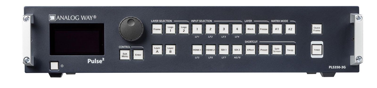 Analog Way PLS350-3G Seamless Switcher/Mixer
