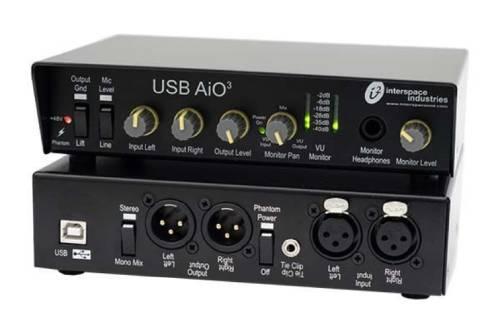 Interspace Industries AiO3 Audio Interfacing Tool